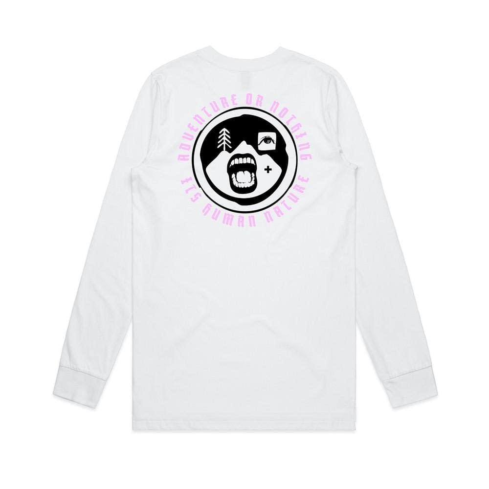 Human Nature. long sleeve (white)